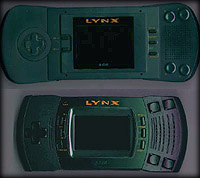 Both versions of the Atari Lynx